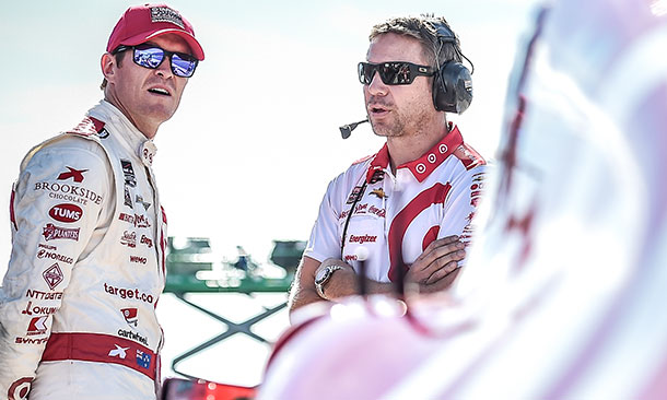 Scott Dixon and Blair Julian