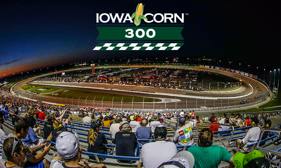 Iowa Speedway in 2015
