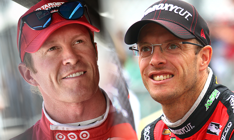 Scott Dixon and Sebastien Bourdais