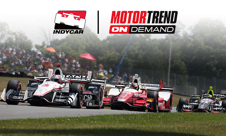 Motor trend ondemand adds indycar content to motorsports for Is motor trend on demand worth it