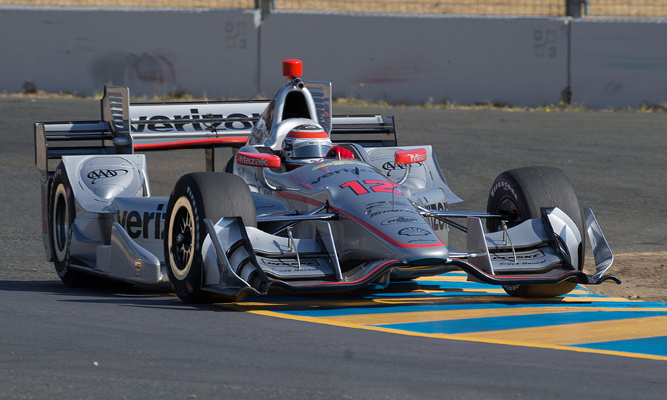 Will Power at Sonoma