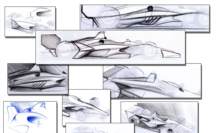 2017 Verizon IndyCar Series 01-12-New-2018-Car-Concept-Sketches