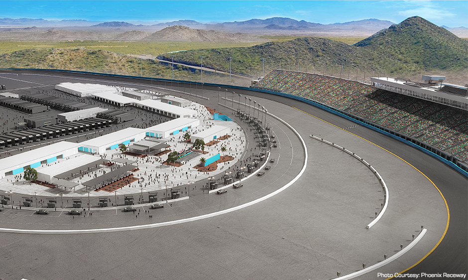 Phoenix International Raceway Modernzation