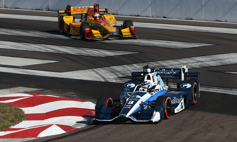 Max Chilton and Ryan Hunter-Reay