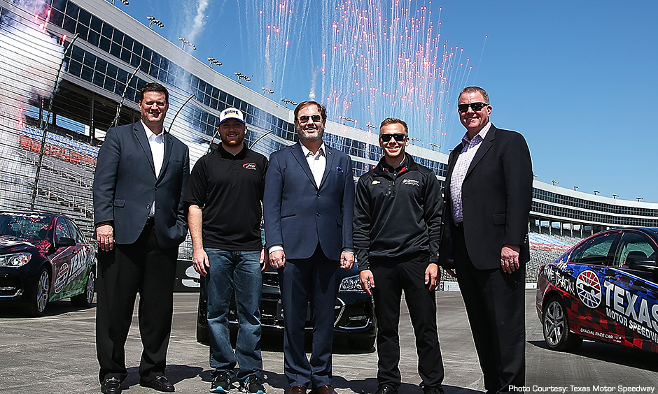 Texas Motor Speedway Repave Celebration