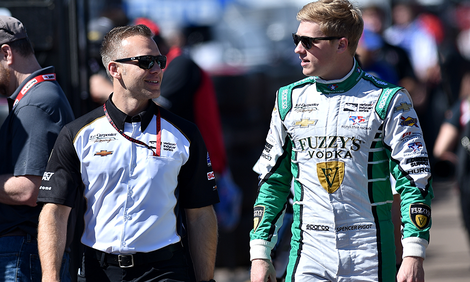 Ed Carpenter and Spencer Pigot