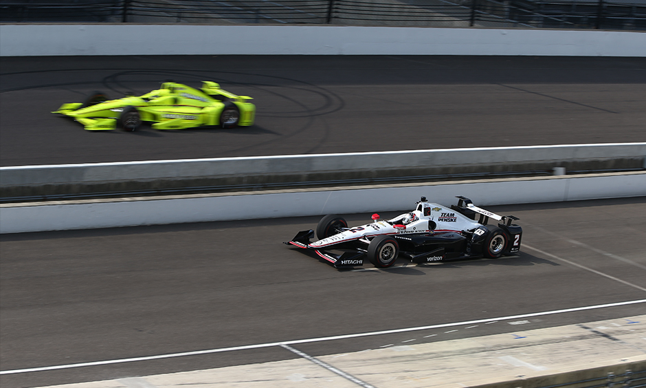 Simon Pagenaud and Josef Newgarden