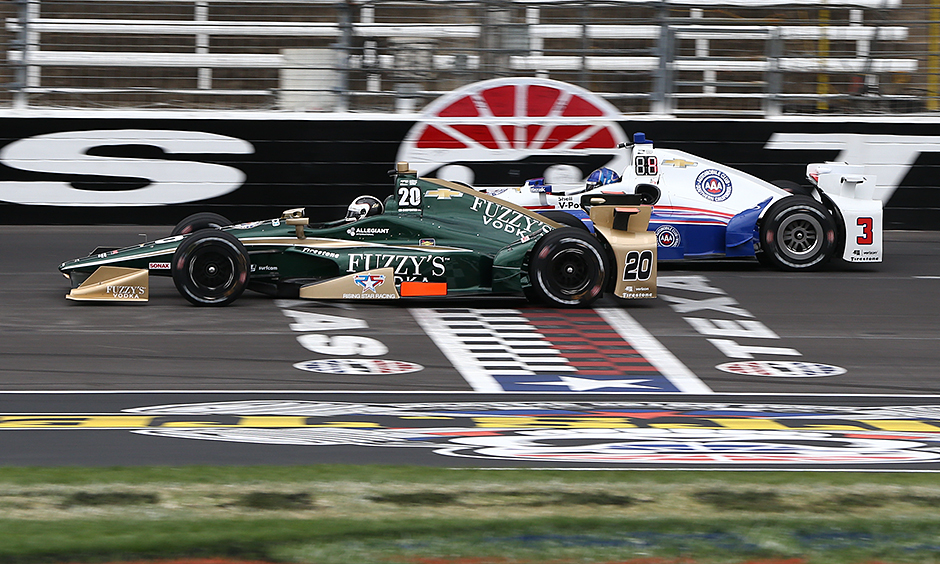 Ed Carpenter and Helio Castroneves