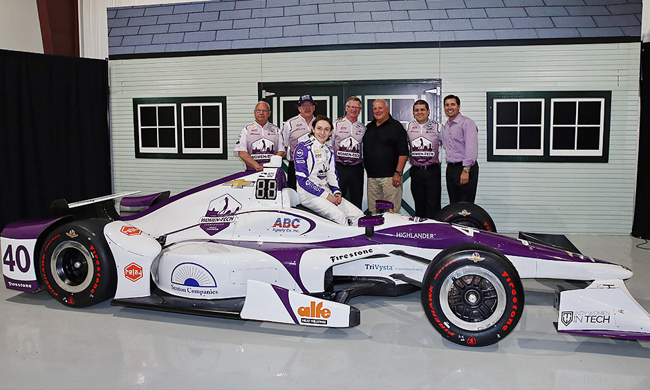 Zach Veach and A.J. Foyt Racing