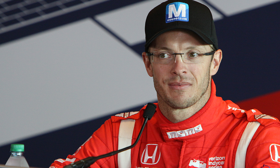 bourdais returns to watch indy 500 one week after crash. Black Bedroom Furniture Sets. Home Design Ideas