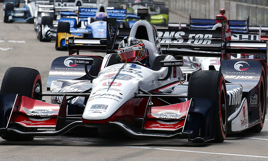 Rahal wins first race at Detroit Grand Prix
