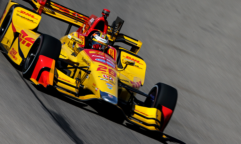 Helio Castroneves Ends Winless Drought At Iowa