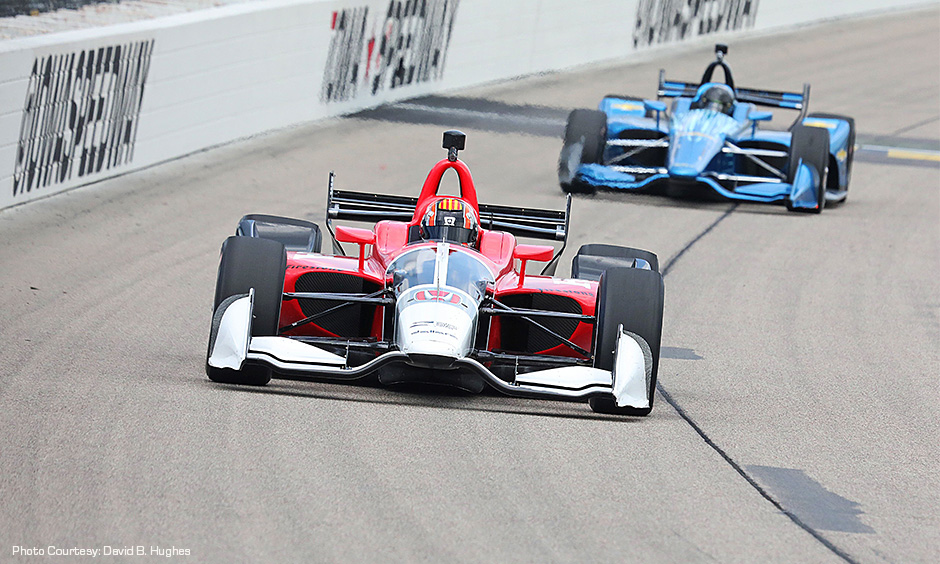 2018 Aero Kit on track at Iowa