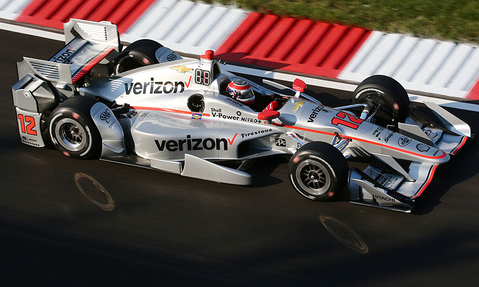 Power leads Penske sweep in Gateway practice