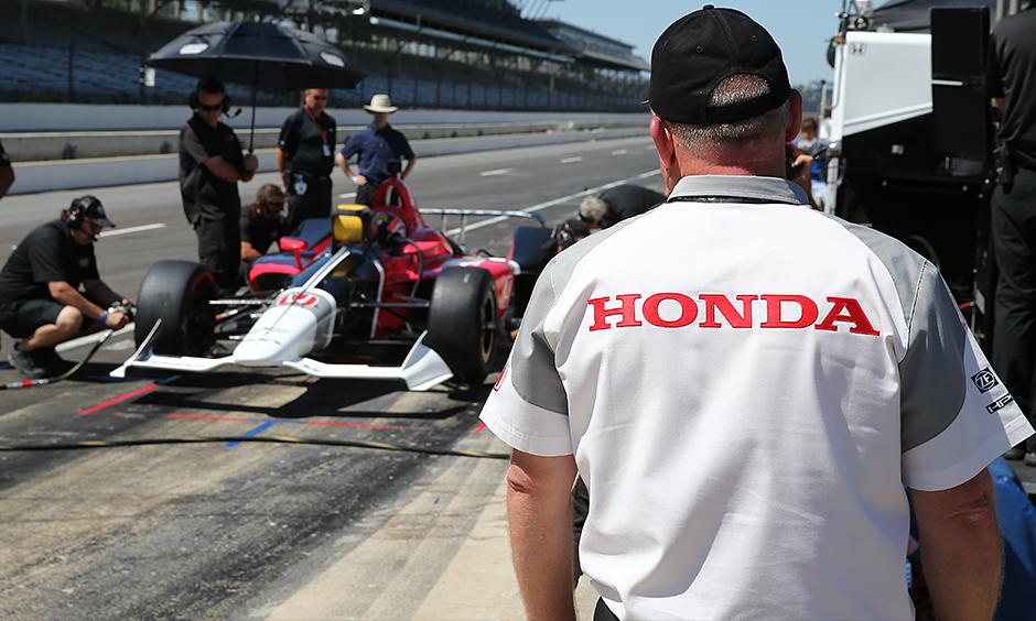 Schmidt Peterson Motorsports and Honda