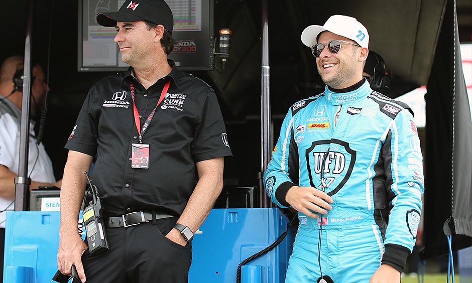 Bryan Herta and Marco Andretti