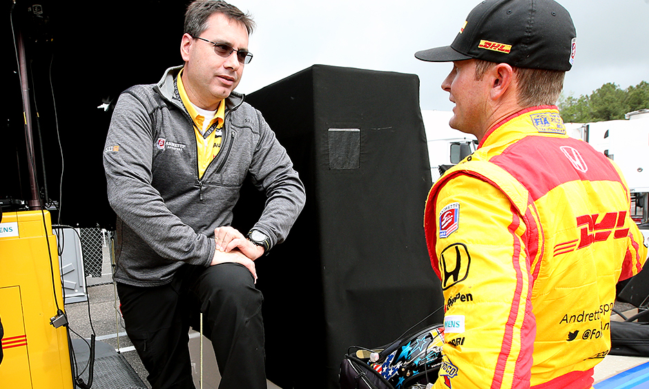 Ray Gosselin and Ryan Hunter-Reay