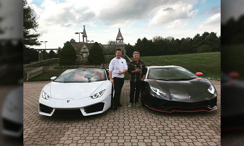Marco and Mario Andretti