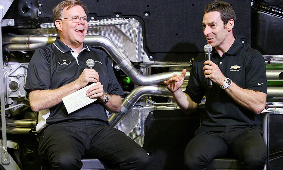 Jim Campbell and Simon Pagenaud