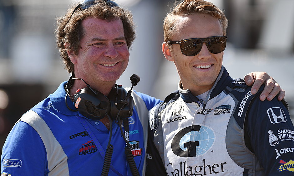 Trevor Carlin and Max Chilton