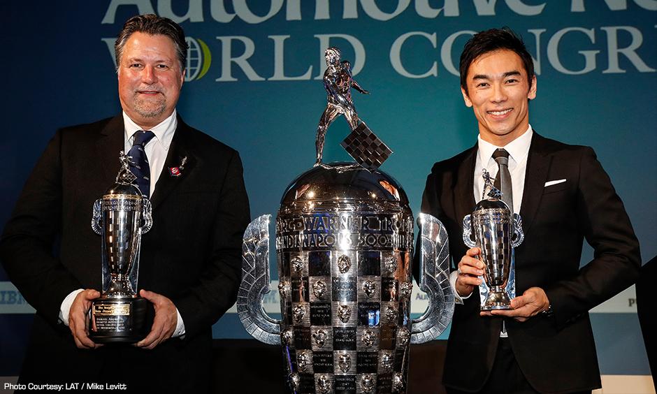 Michael Andretti and Takuma Sato