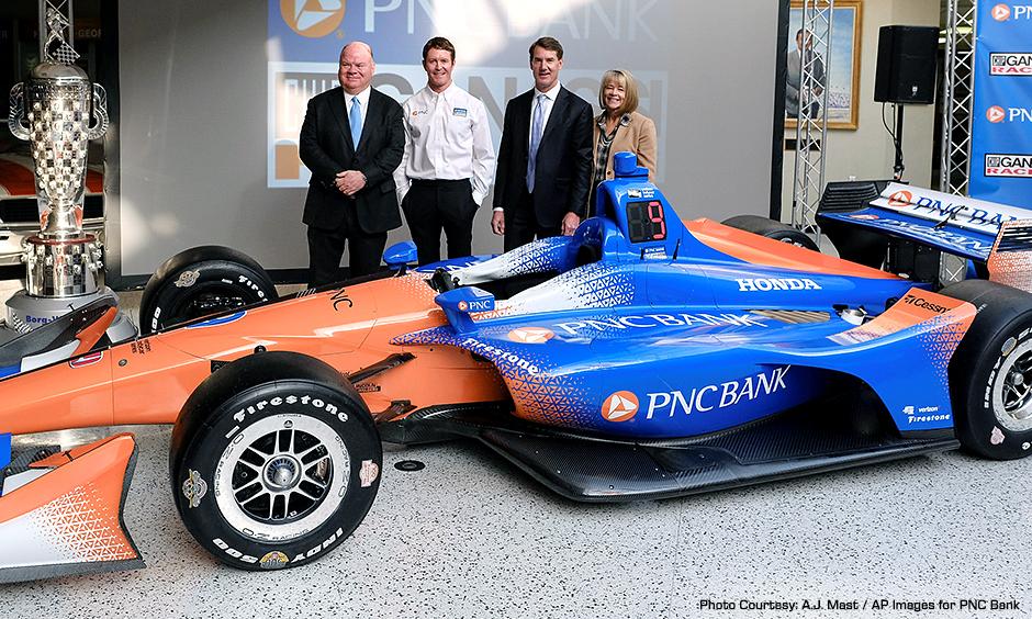 Chip Ganassi Racing and PNC Bank