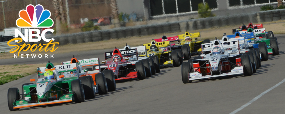 NBCSN broadcasts feature all three MRTI series
